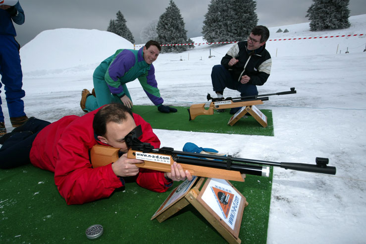 biathlon team building suisse