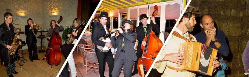 Musiciens soirée entreprise genève